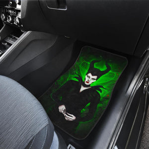 Maleficent Gorgeous Beauty Queen Walt Disney Car Floor Mats