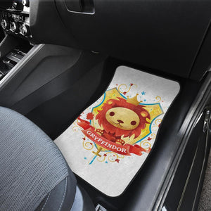 Harry Potter Gryffindor Cute Lion Logo Car Floor Mats