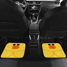 Load image into Gallery viewer, Yellow Chicken Car Floor Mats