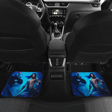 Load image into Gallery viewer, Aquaman Riding Shark under the Sea Car Floor Mats