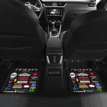 Load image into Gallery viewer, Friends TV Show Symbols Poster Car Floor Mats