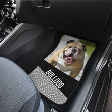 Load image into Gallery viewer, The Face Bulldog - Car Floor Mats
