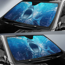 Load image into Gallery viewer, Shark Glass Broken - Auto Sun Shade
