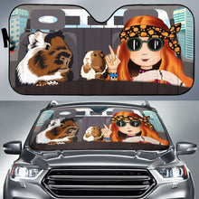 Load image into Gallery viewer, Guinea Pig Highway Sun Shade Lqt Auto Sun Shades