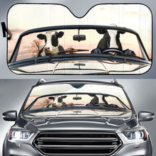 Load image into Gallery viewer, Cow - Driving Roadster Sun Shade - Sr Auto Sun Shades