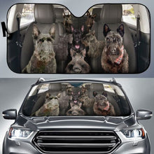 Load image into Gallery viewer, Scottish Terrier Auto Sun Shade