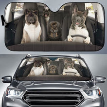 Load image into Gallery viewer, Akita Auto Sun Shade