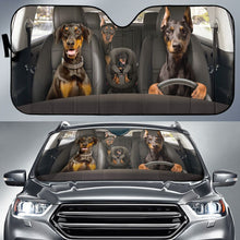 Load image into Gallery viewer, Doberman Auto Sun Shade
