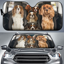 Load image into Gallery viewer, Cavalier King Charles Spaniel Auto Sun Shade