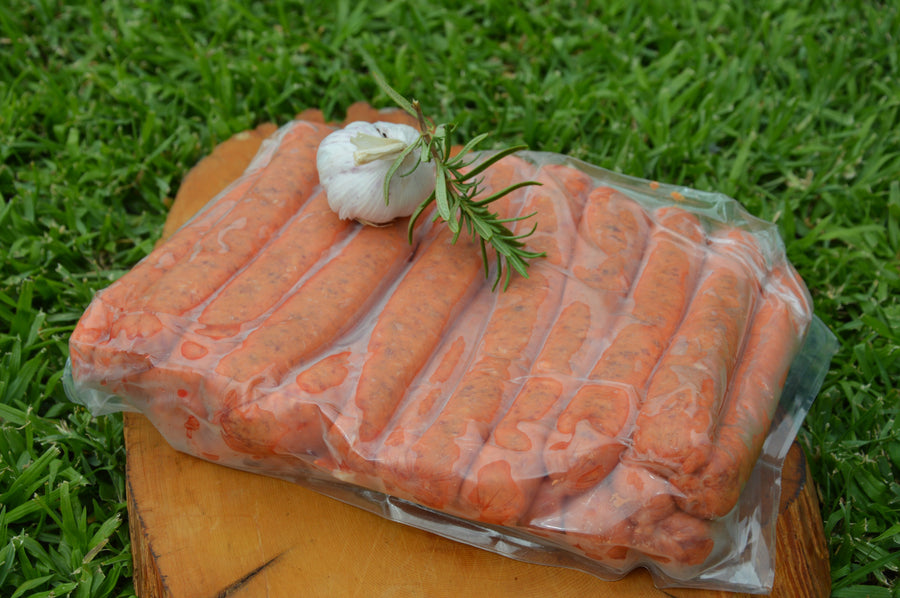 Black Angus Sausages (GF) $10/pack approx 1kg- (Mar 5th, 6th,& 7th)