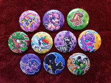 Load image into Gallery viewer, Battle Gem Ponies! - Button Pack #1