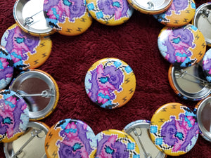 Battle Gem Ponies! - Button Pack #1