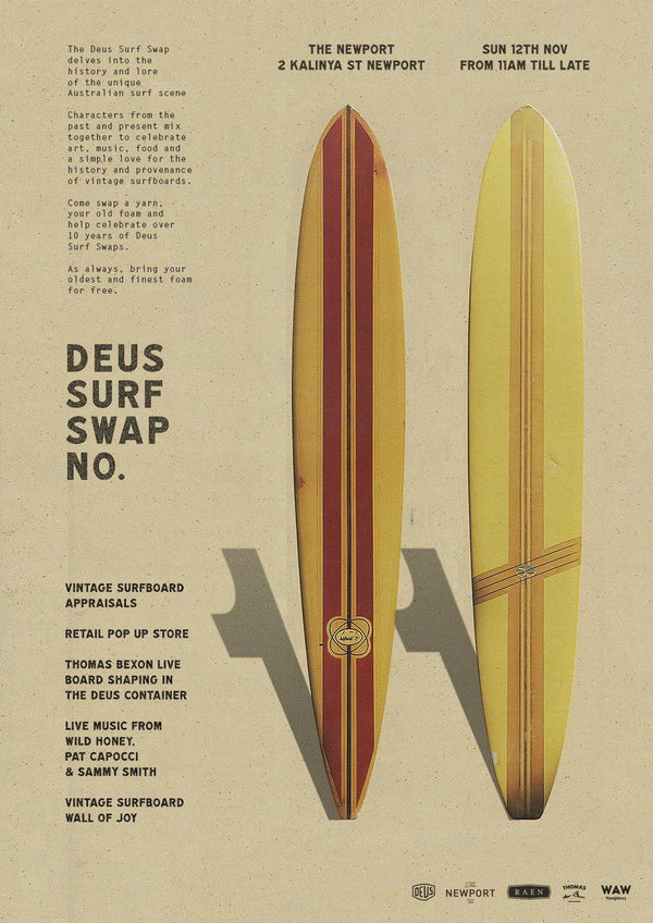 Save the date - SURF SWAP 11