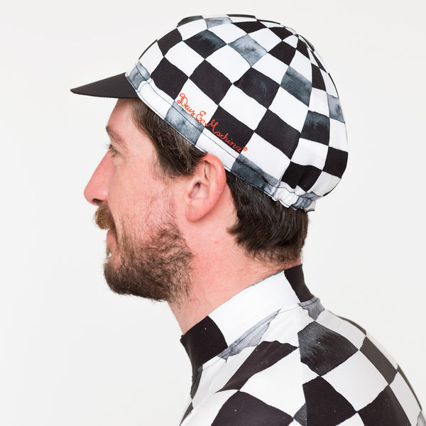 Fischer Cap - Black-White