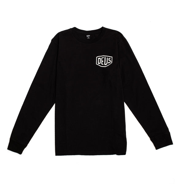 Ibiza Address Long Sleeve Tee - Black