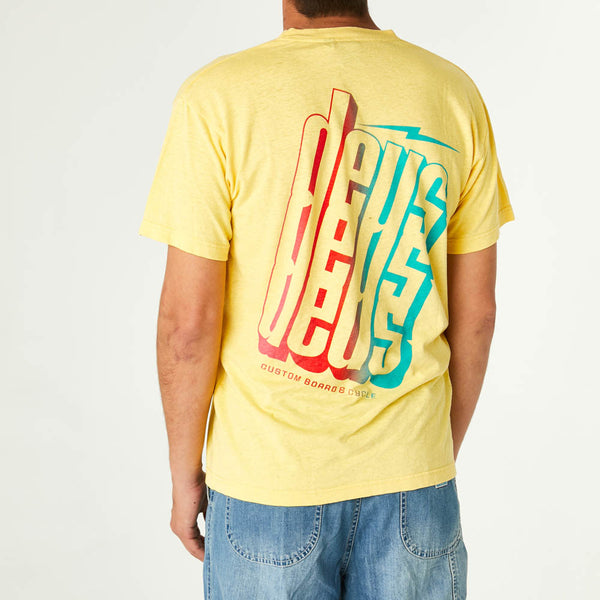 Slab Tee - Super Lemon