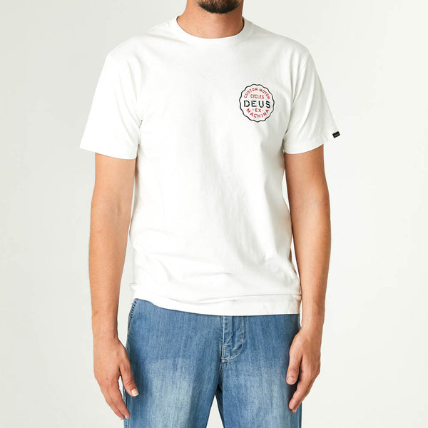 Canggu Address Tee - Vintage White