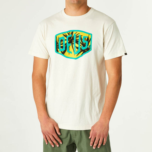 Centi Shield Tee - Dirty White
