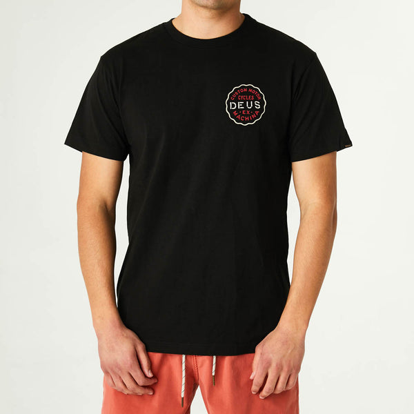 Camperdown Address Tee - Black