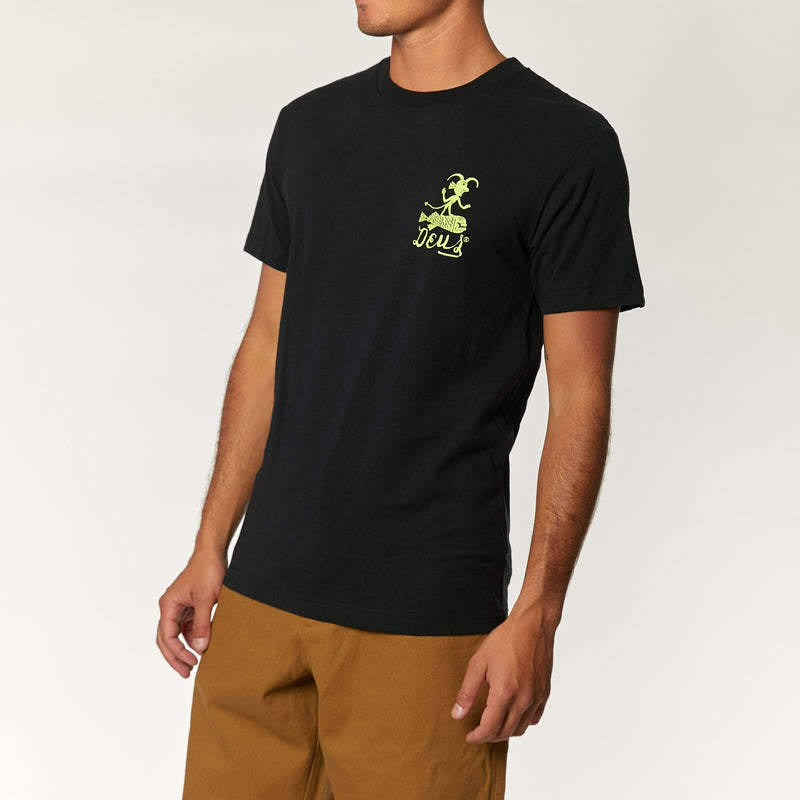 Devil Biarritz Tee - Black