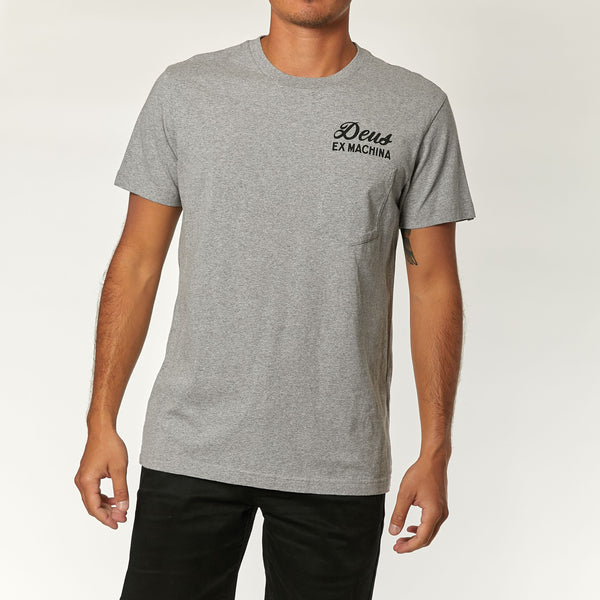 Venice Address Tee - Grey Marle