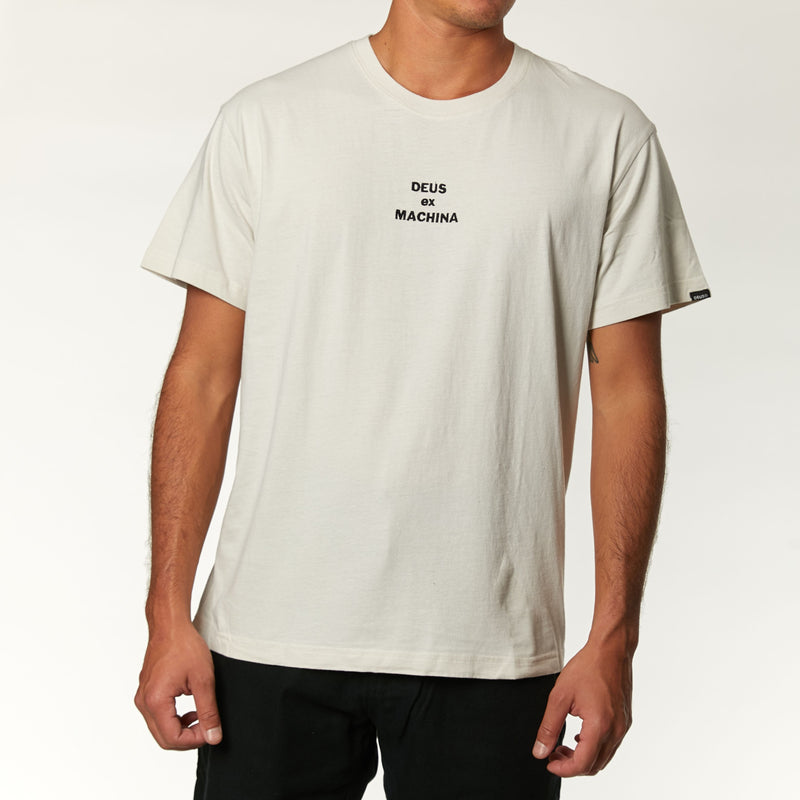 Fuses Tee - Dirty White