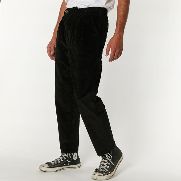 Malvo Cord Pant - Phantom Black