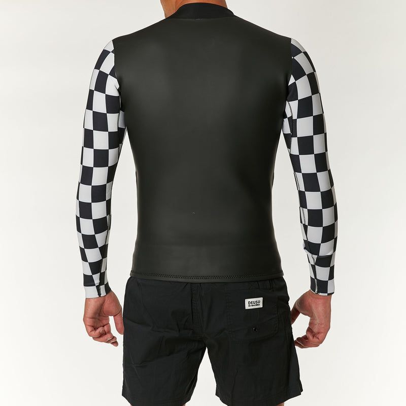 Gridley Wetsuit - Black-White