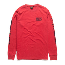Six Trix Long Sleeve Tee - Blood Red