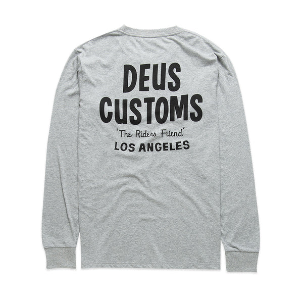 Walrus Long Sleeve Tee - Grey