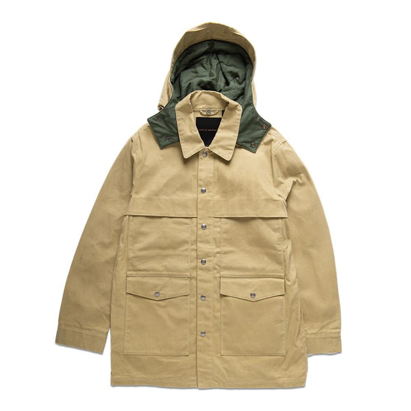 The Flood Raincoat - Capers Tan