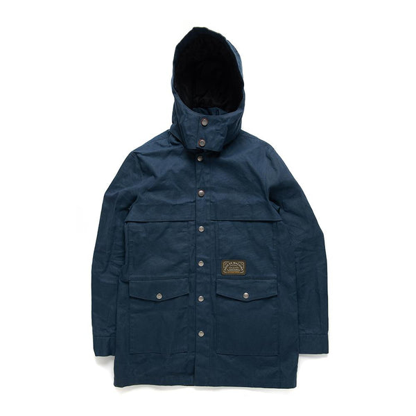 The Flood Raincoat - Midnight Blue