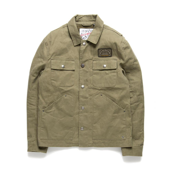 The Maguire Jacket - Capers Tan