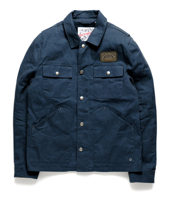 The Maguire Jacket - Midnight Blue