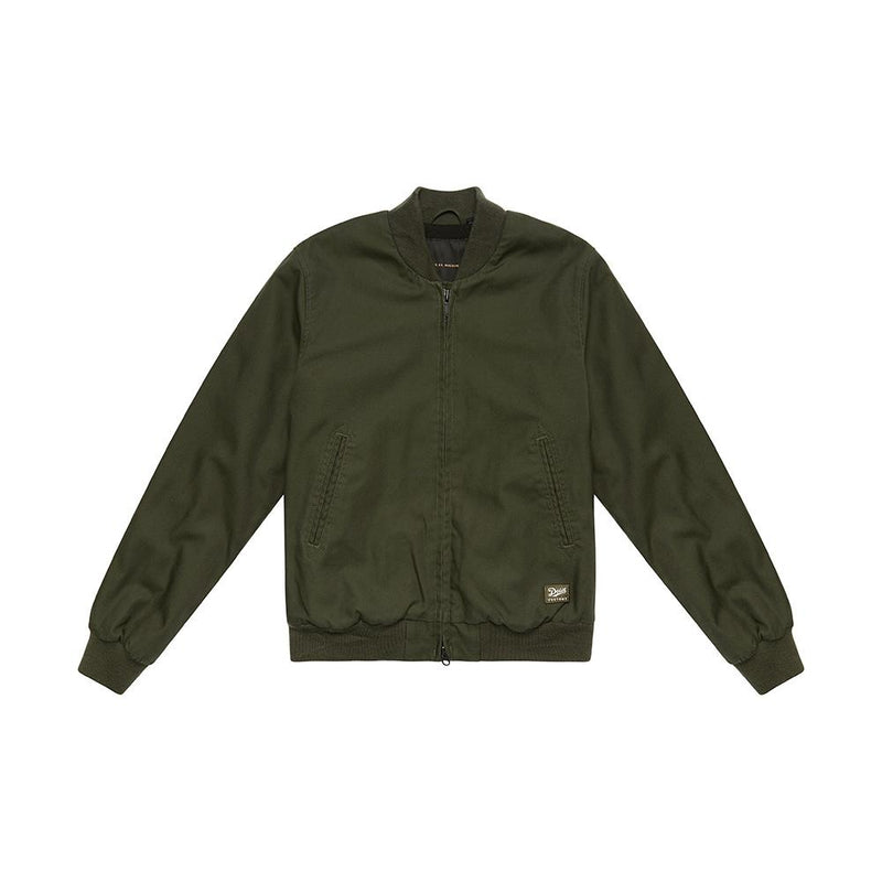 Buzz Bomber Jacket - Forest Green