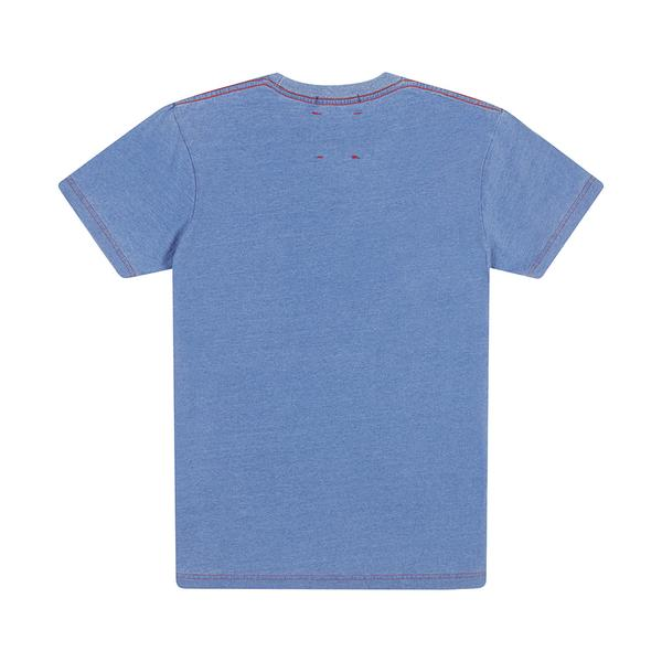 All Caps Indigo Tee - Light Indigo