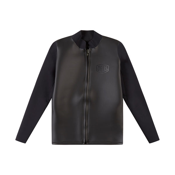 Canggu Long-sleeve Zip Wetsuit - Black