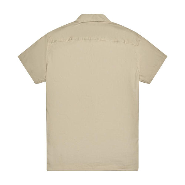 Service Poplin Shirt - Safari