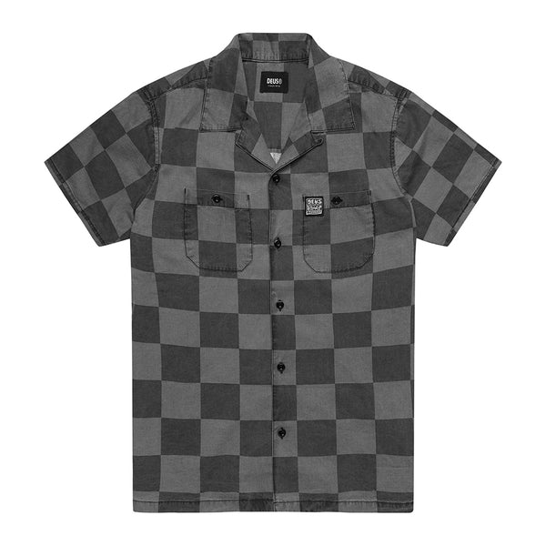 Senna Check Shirt - Black Check