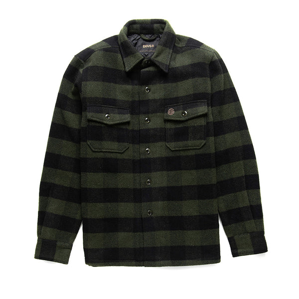 Marcus Flannel Shirt - Forest Night
