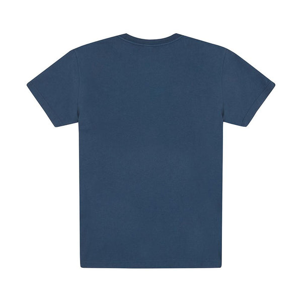 All Caps Tee - Navy