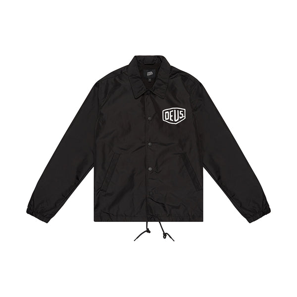 Milano Coach Jacket - Black