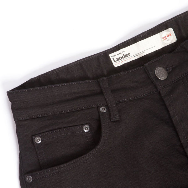 Lander Slim - Raw Black - L 32 - Raw Black