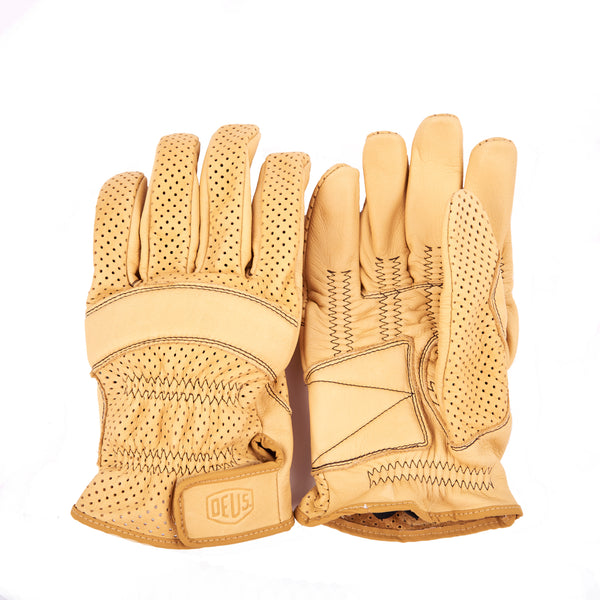 Mesh Gripping Gloves - Tan