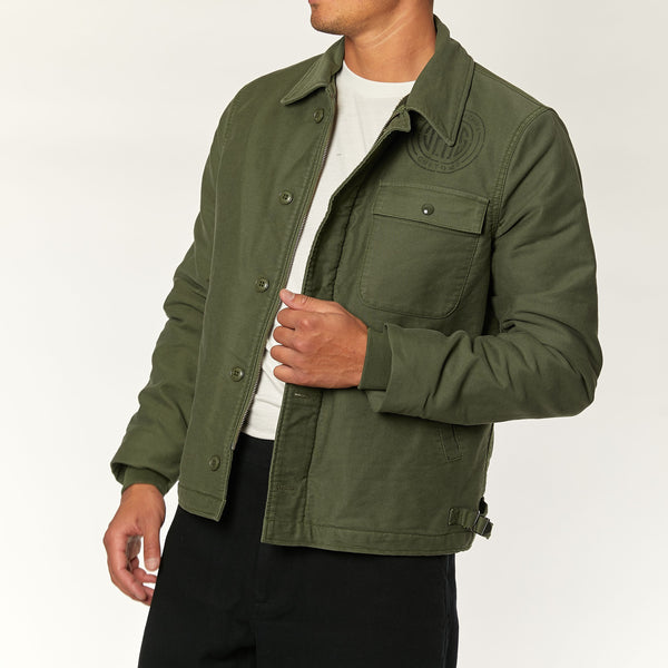 A-2 Deck Jacket - Dark Olive