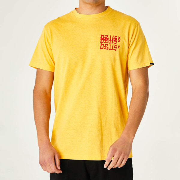 Atomica Tee - Chrome Yellow