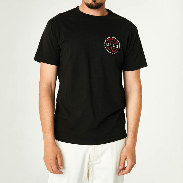 Canggu Address Tee - Black