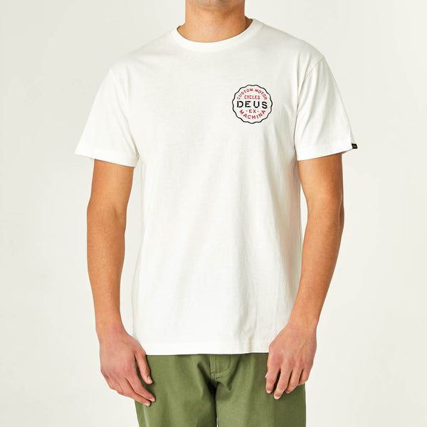 Camperdown Address Tee - Vintage White