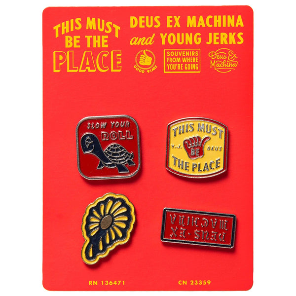 Souvenir Pins - Multi