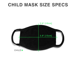 Child Face Mask - 6 Feet Please